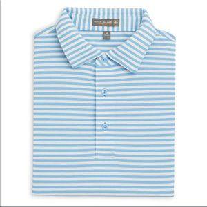 Peter Millar   Tygra Stripe Stretch Golf Polo XL